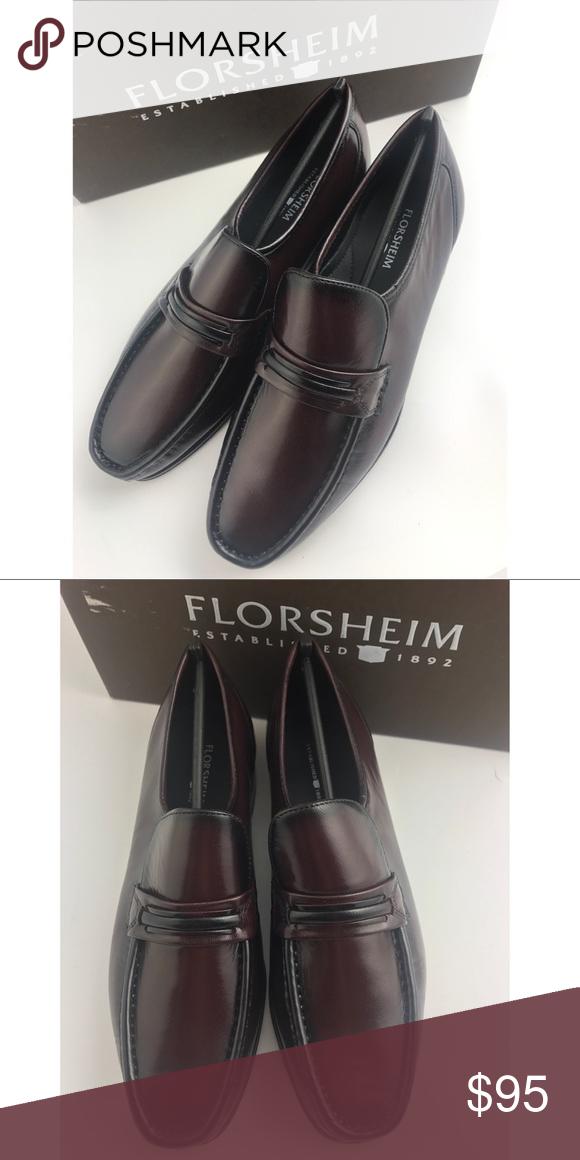 florsheim slip on dress shoes