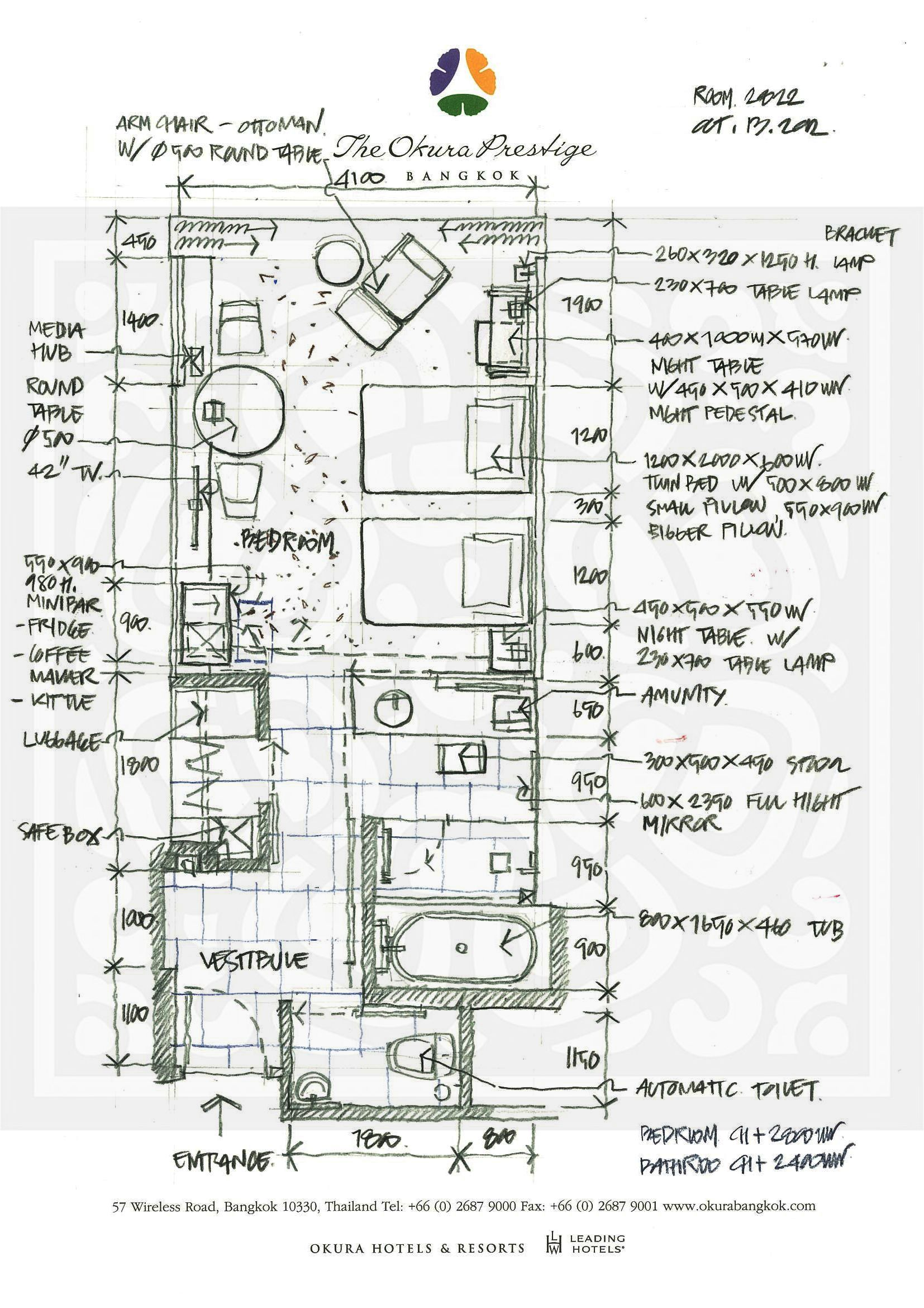 Floor Plan Drawing Hotel Room Design Office Bathrooms Bathroom Plans Architecture Dining Table Dormitory