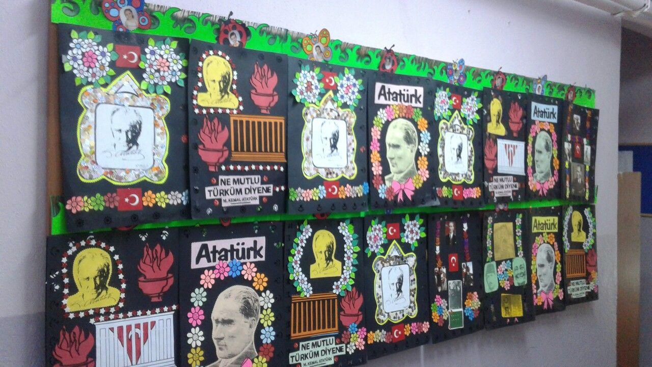 Ataturk Albumu Okul Oncesi Okul Nisan
