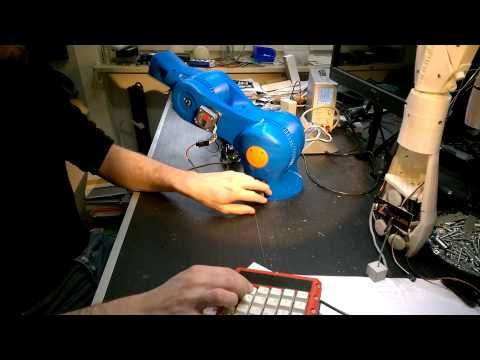 Printable Robot Arm - first test - YouTube