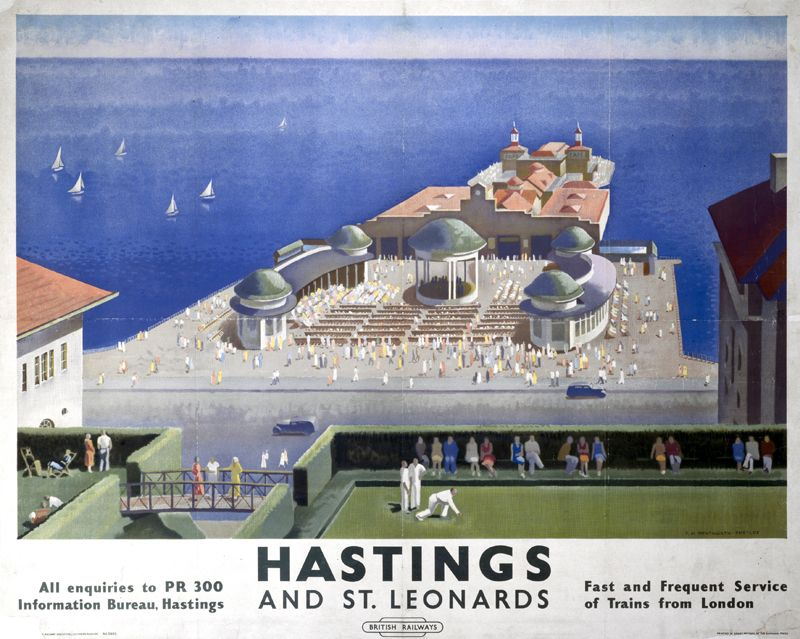 bexhill on sea railway poster - Google Search