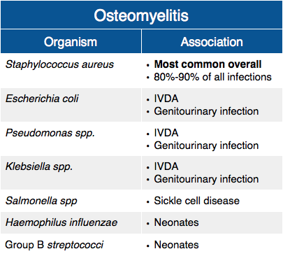 21++ Difference between osteoporosis and osteomyelitis information