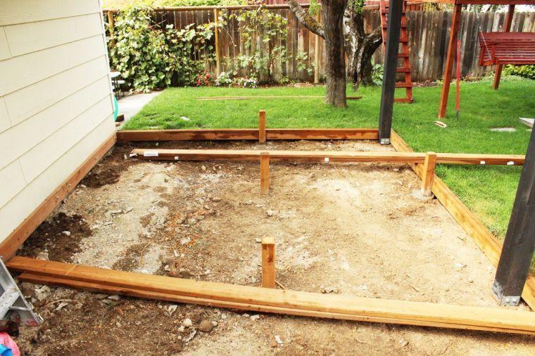 Fabrication terrasse bois  comment réaliser une structure terrasse