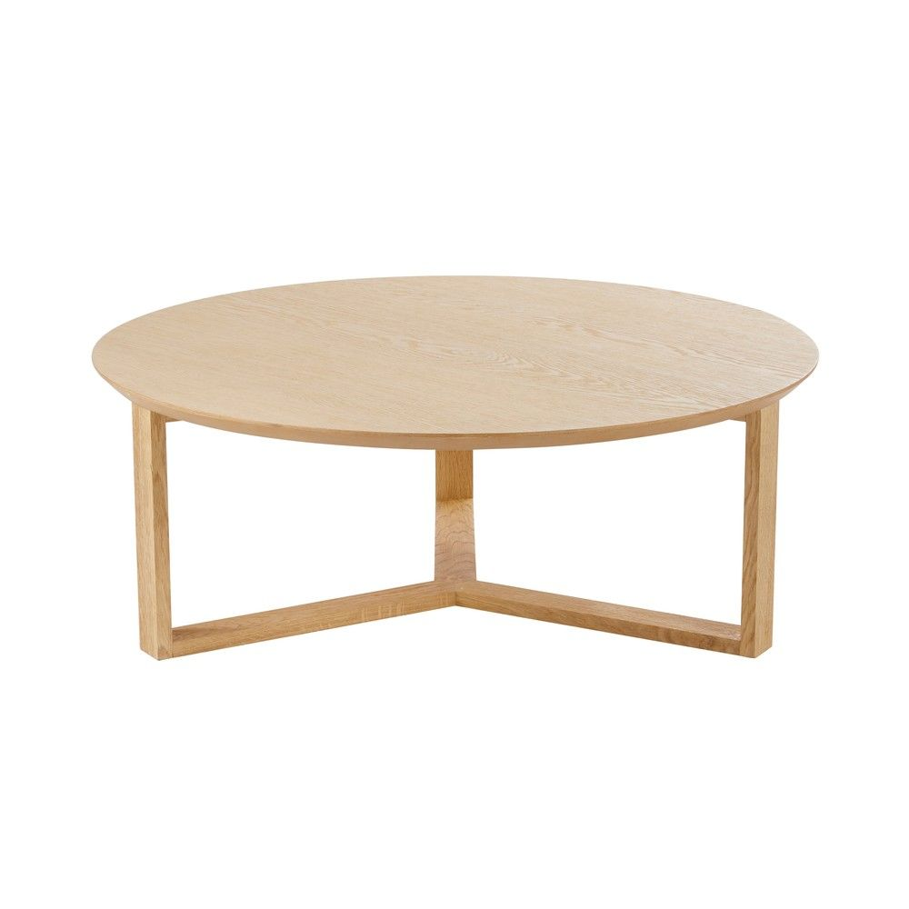 Table Basse Salon Ronde Tables Et Bars Table Basse Bois Round Coffee Table Table Et