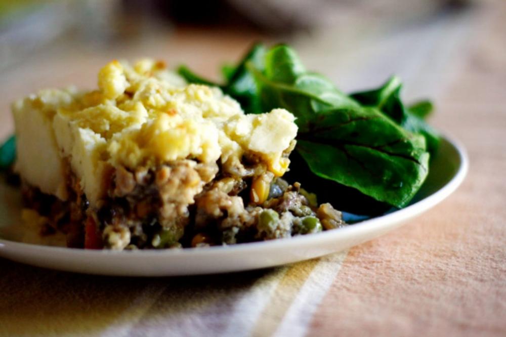 Tempeh Shepherd's Pie [Vegan] #shepardspie