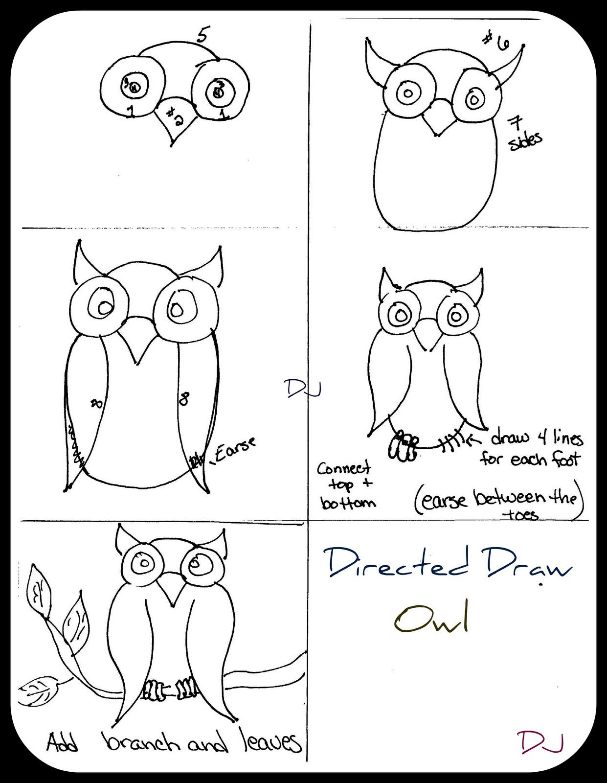 Upside Down Drawing For Kids