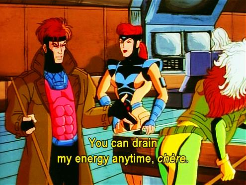 X-men Marvel rogue gambit jean grey x-men the animated series