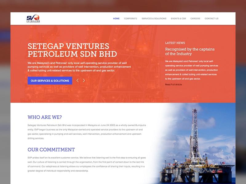 Svp Corporate Website Corporate Website Corporate Website Design Web Inspiration