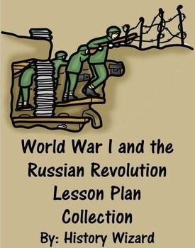 War I and the Russian Revolution Lesson Plan Collection