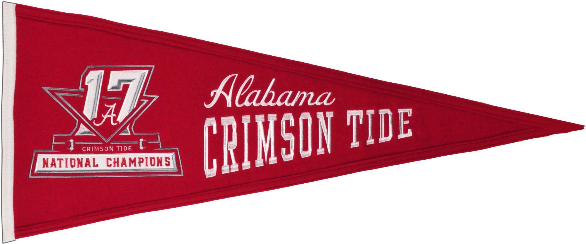 Winning Streak 2017 National Champions Alabama Crimson