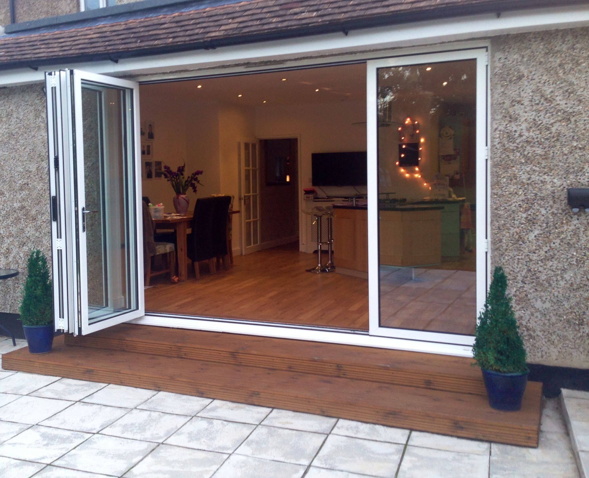 Stunning Aluminium Bi Folding Doors From Bi Folding Door Prices Design Price And Order Instantly On Bifold Doors Folding Doors Sliding Door Window Treatments