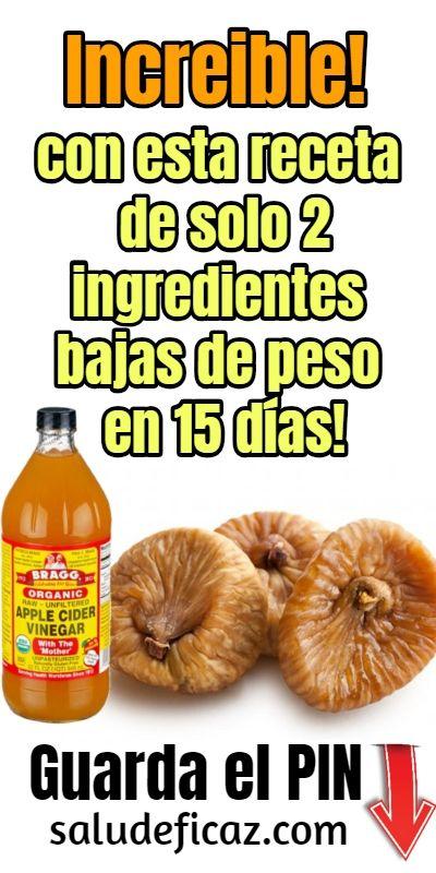 Remedios caseros con vinagre de manzana para bajar de peso