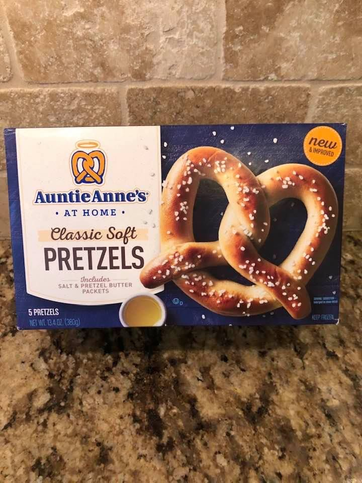 Air Fryer Soft Baked Pretzels (Cooked From Frozen