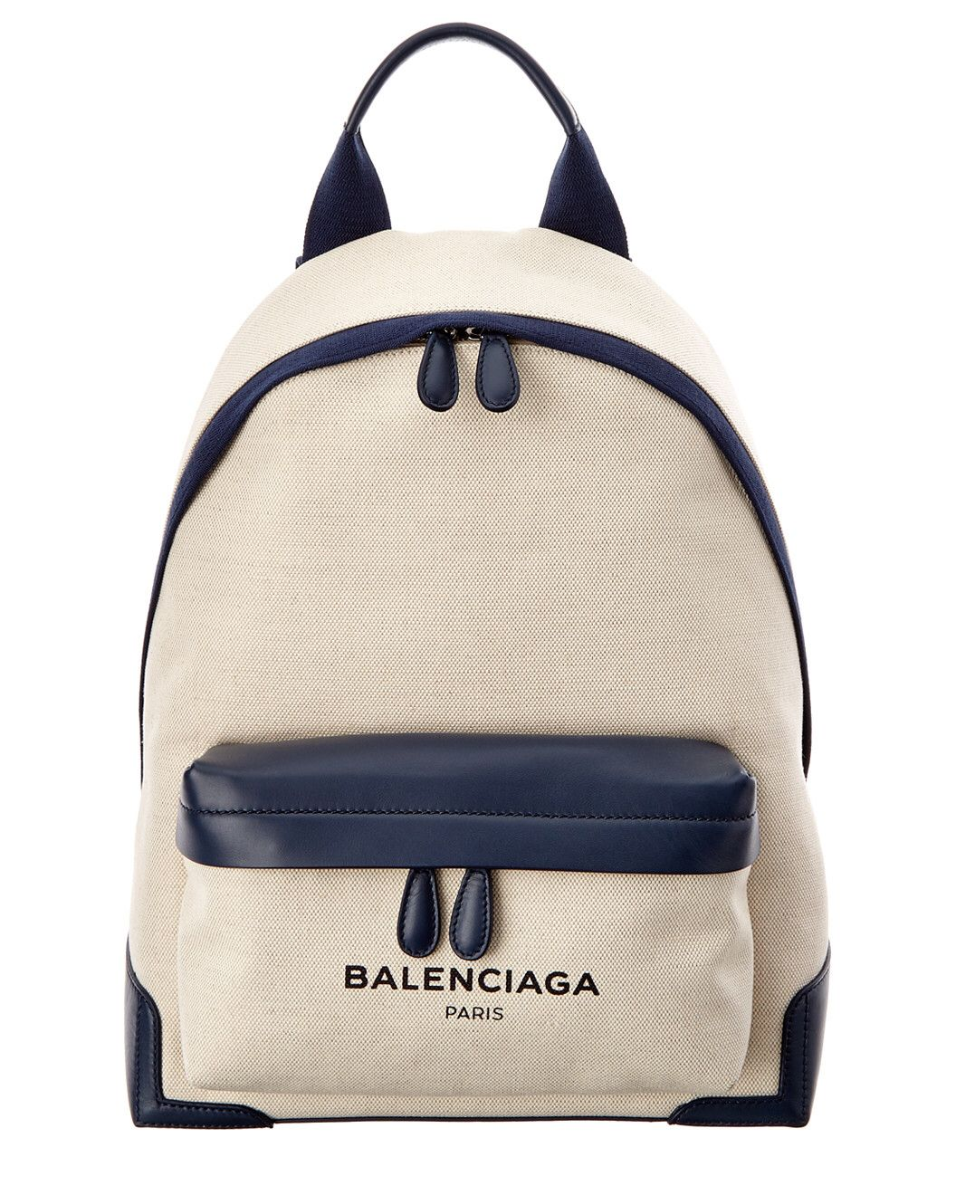 be207b0dc Spotted this Balenciaga Navy Canvas Backpack on Rue La La. Shop (quickly!)