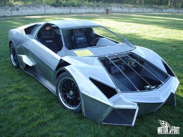Fiero with Lamborghini Body and GM Heart | Renewable energy