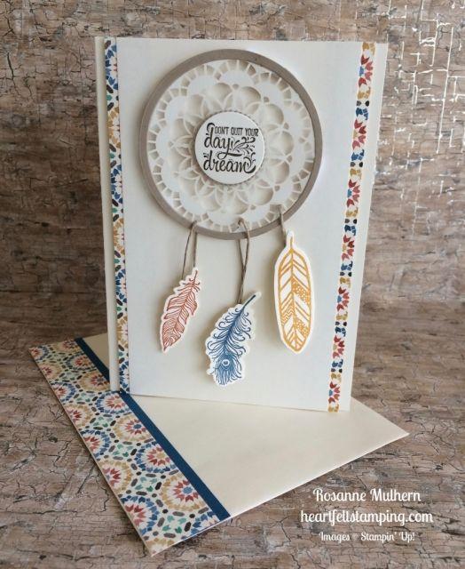 Dreamcatcher /& Feathers CR1373 Marianne Design Craftables Cutting Dies