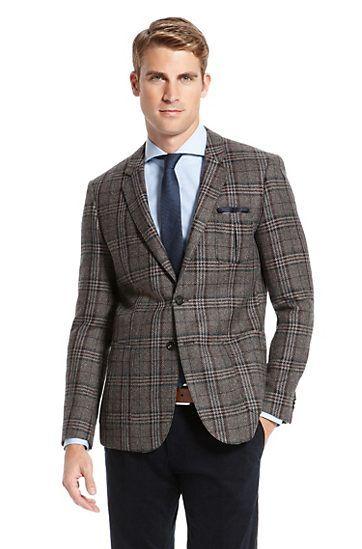 6358e83f3 Hugo boss - Extra Slim Fit Virgin Wool 'Randolph' Sport Coat, Open Brown