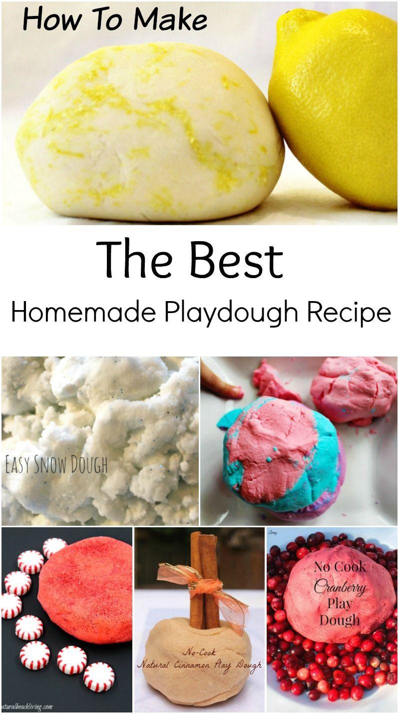 Make The Best Homemade Playdough Recipe 30+ Play dough