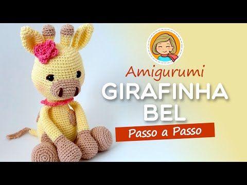 Tutorial Girafinha Amigurumi - Parte 1 de 3 | 360x480