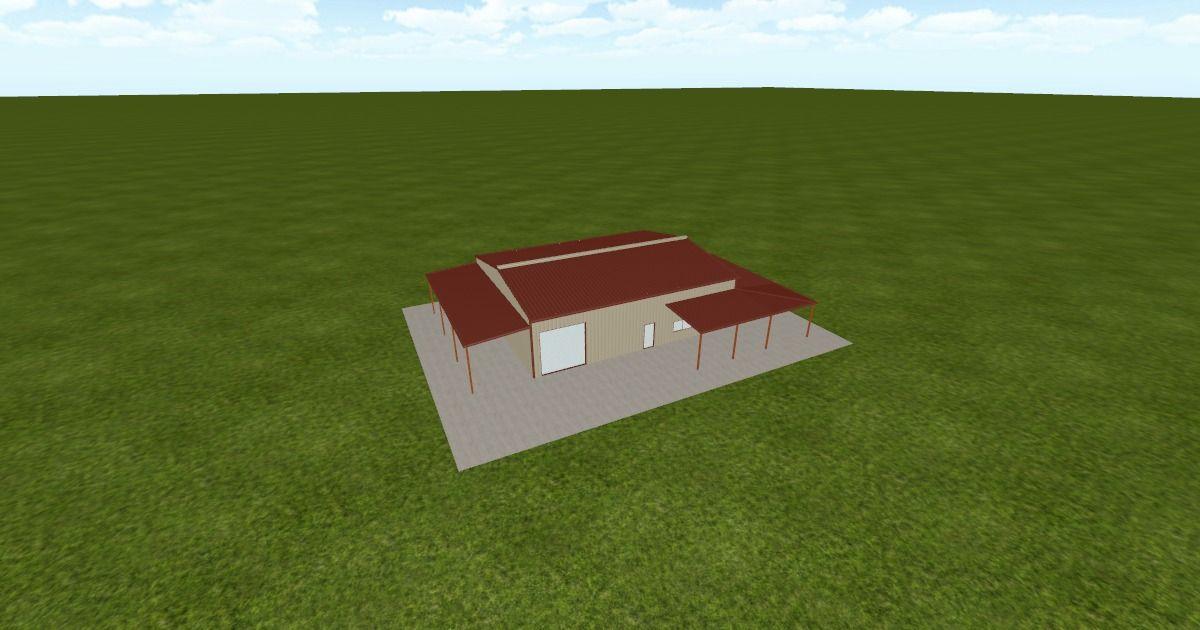 Cool 3D #marketing http://ift.tt/2fAYvJM #barn #workshop #greenhouse #garage #roofing #DIY