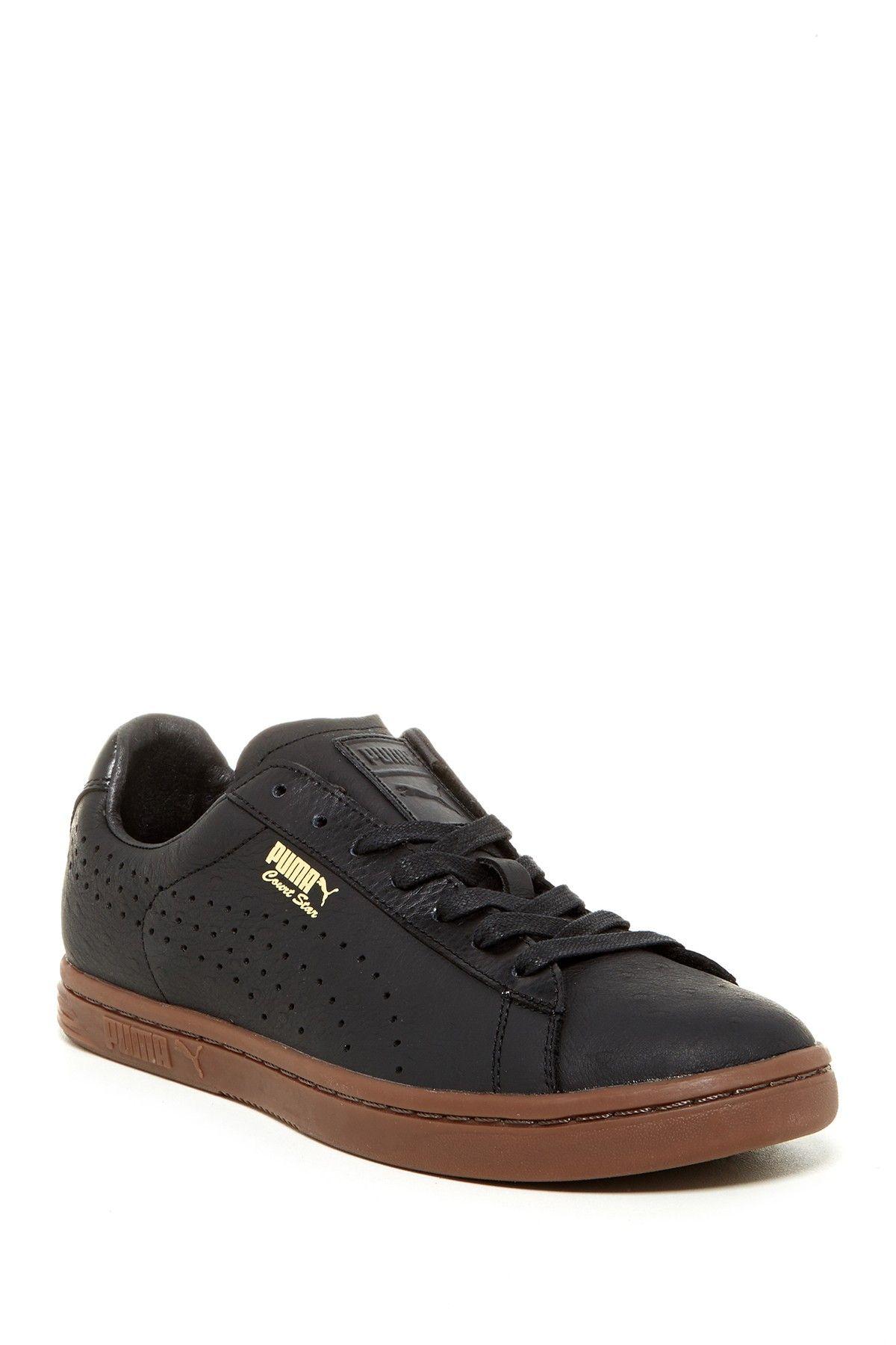 timeless design fb286 71a6a Puma Court Star: Black/Gum   Sneakers: Puma Court Star ...