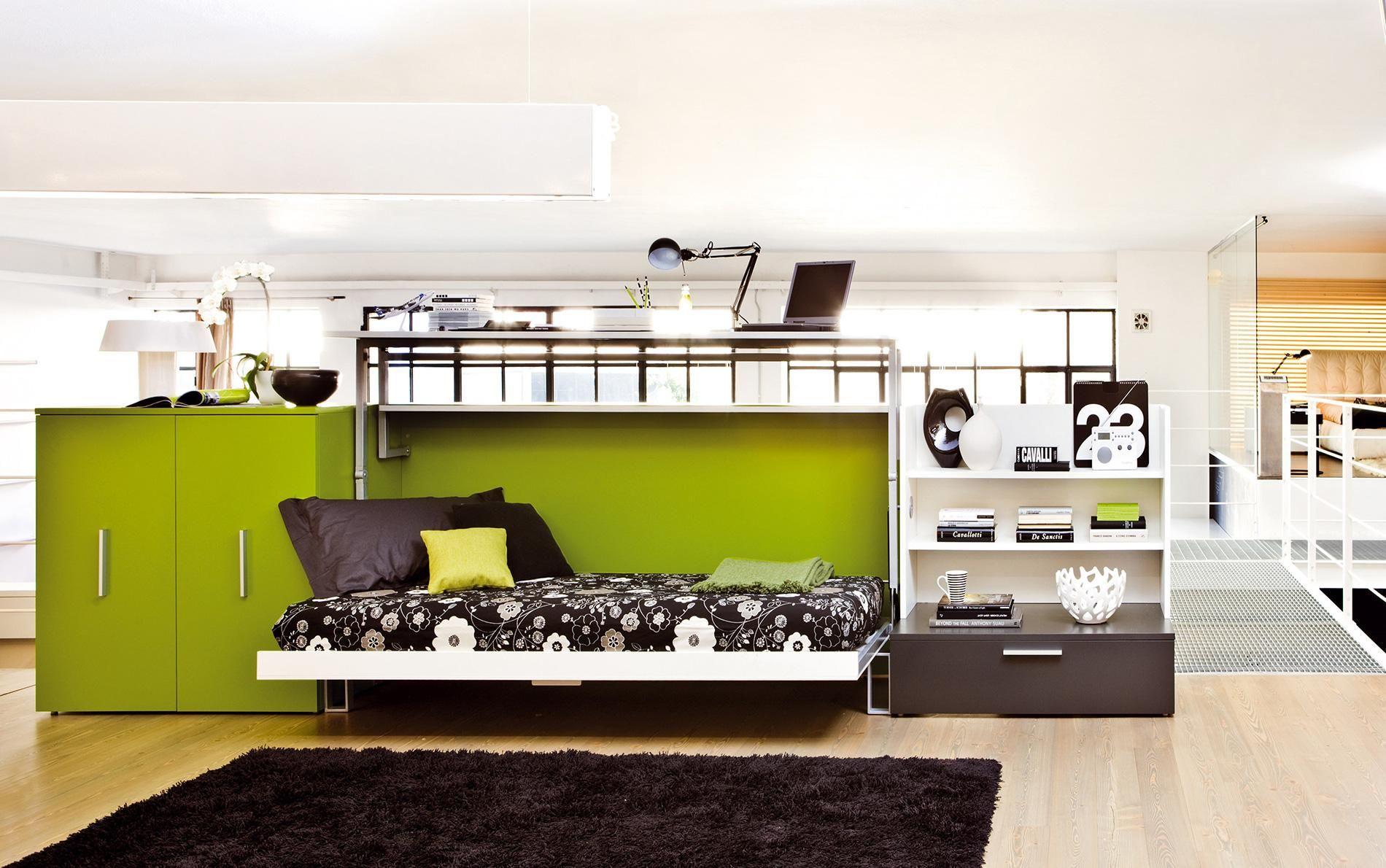 designer schrankbett und schreibtisch cabrio in moderne schrankbetten schrankbett cabrio. Black Bedroom Furniture Sets. Home Design Ideas