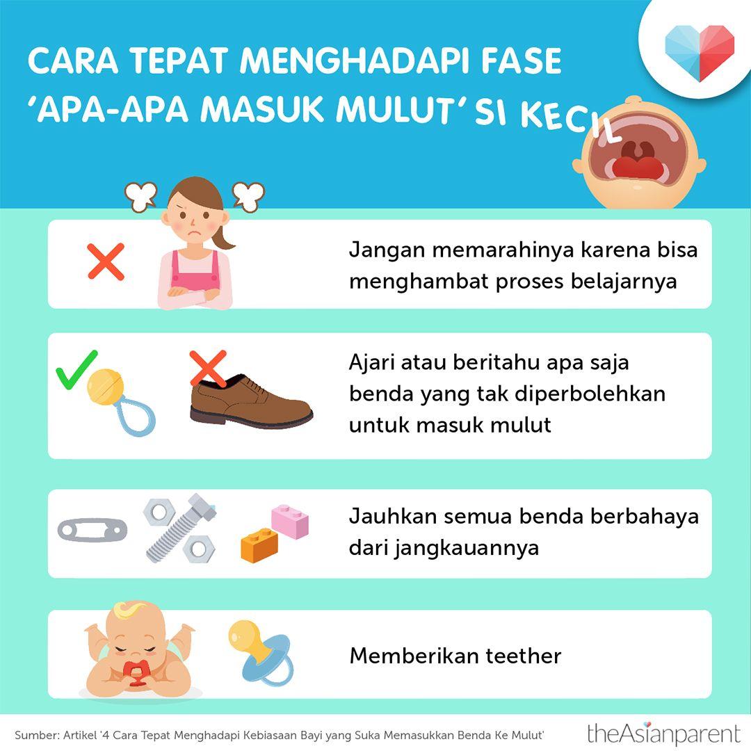 Cara Tepat Menghadapi Fase Apa Apa Masuk Mulut Si Kecil Bayi Buku Bayi Psikologi Perkembangan