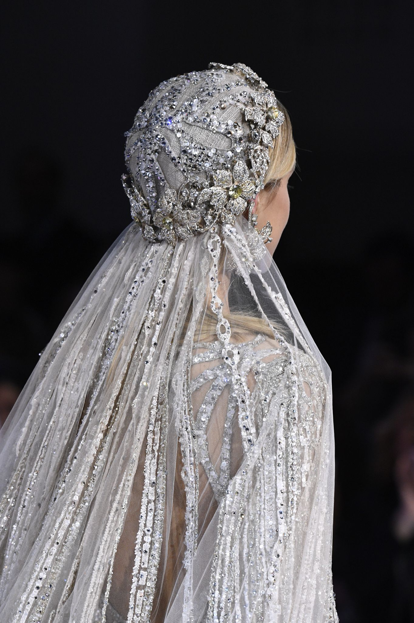 62f9d808e See all the details from Elie Saab s Couture Spring 2018 collection. Bridal  Style