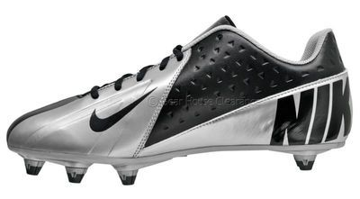 0a658e6b9 New NIKE Vapor Strike Low 3 D Mens Football Cleats Detachable Studs Black  Silver