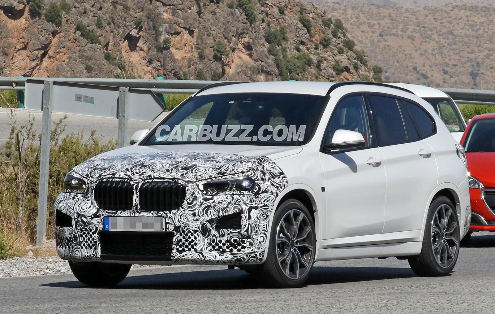 Here S A First Look Inside The Bmw X1 Facelift Bmw New Bmw Car Wallpapers
