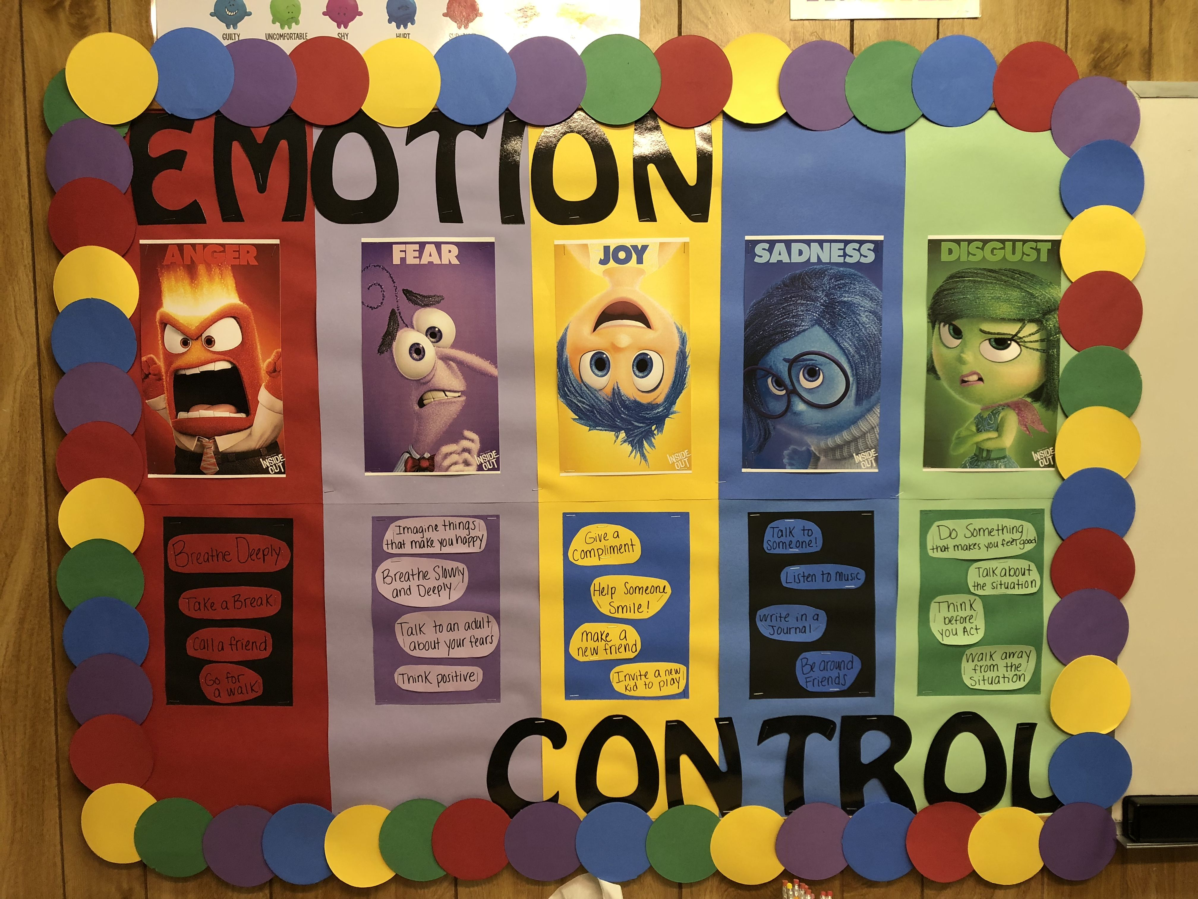 My Inside Out Bulletin Board