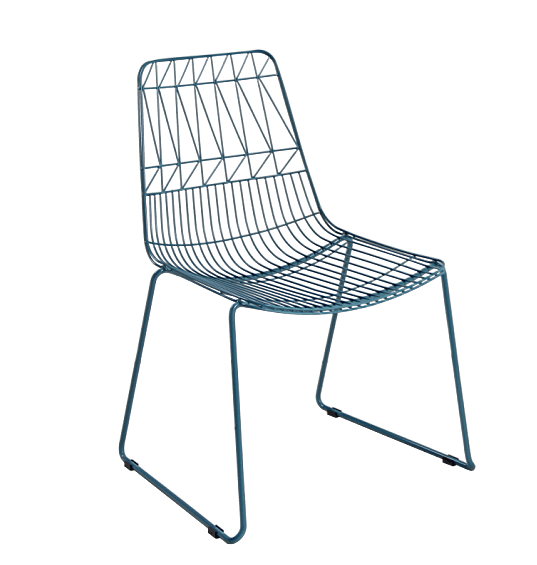 New Design Metal Wire Chair For Outdoor Used.