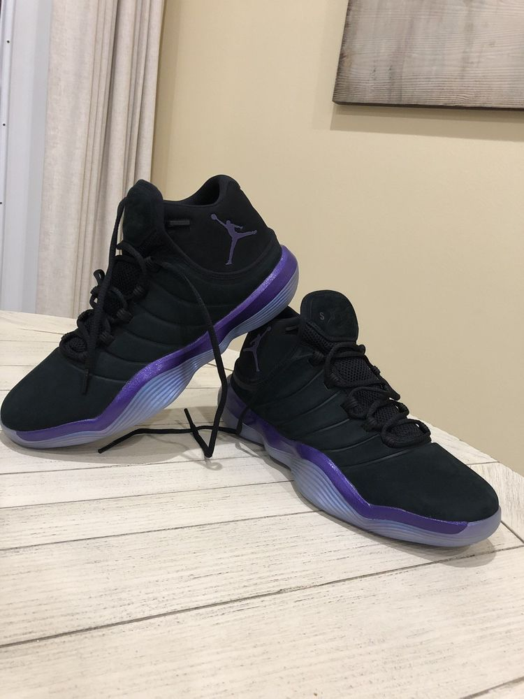 827f6ed048e Nike Air Jordan Superfly 2017 Mens US Size 11.5 Basketball Shoes Black  Purple  fashion  clothing  shoes  accessories  mensshoes  athleticshoes  (ebay link)