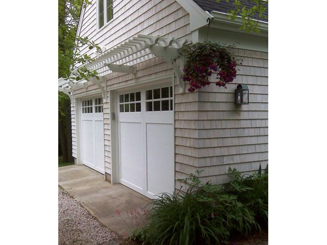 Pergola Over Two Car Garage This Is Such A Great Way To Dress Up