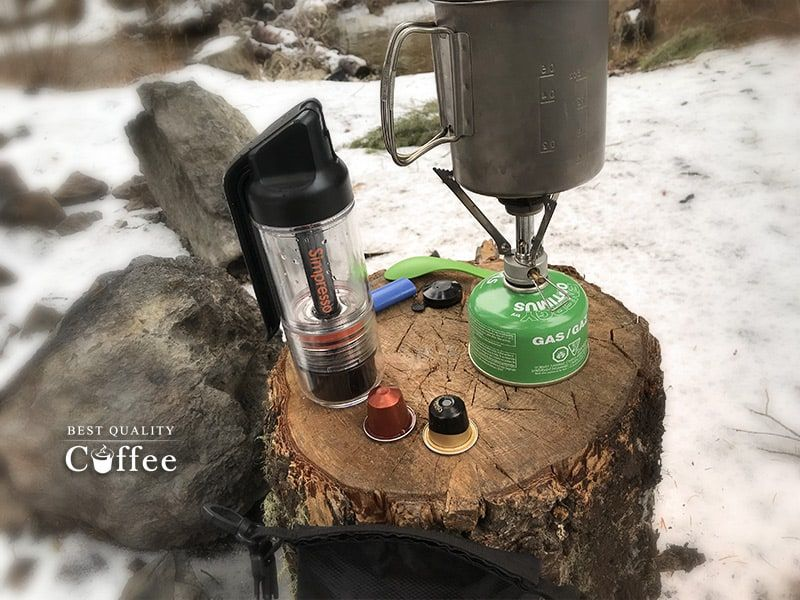The Ultimate Portable Espresso Maker - Simpresso Review - Best Quality Coffee #espressomaker