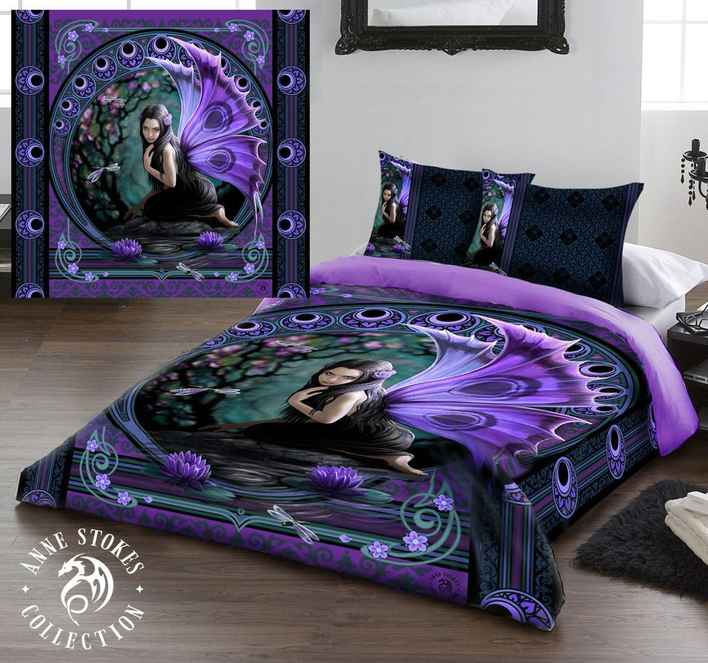 Wild Star Hearts Naiad Duvet Pillow Covers Case Set Uk King Us