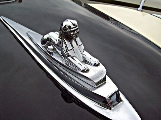 A Car Hood Ornament..Re-pin brought to you by agents of #Carinsurance at #HouseofInsurance in Eugene, Oregon
