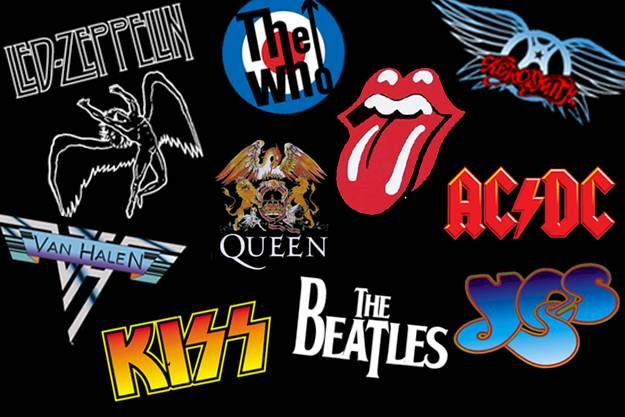 Talking About Glam 70s Rock Rock Band Logos Classic Rock Bands Band Logos