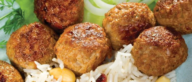 Stronger Together: Stuffed Lamb Meatballs