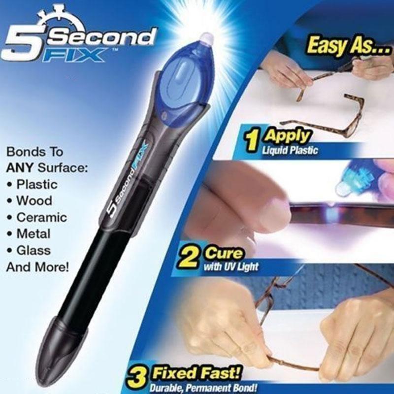 5 Second Fix Uv Light Welding Multi Tool Improved 2018 Formula Plastic Welding Liquid Plastic Welding Set