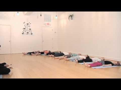 savasana corpse pose yoga class for children