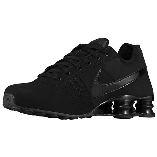 low price nike shox deliver mens running shoe all black yeezys 76574 ... 62e83f7ec