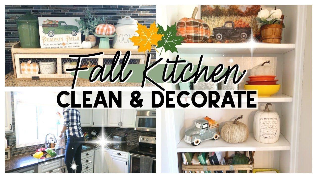 Fall clean decorate 2019 farmhouse fall kitchen decor