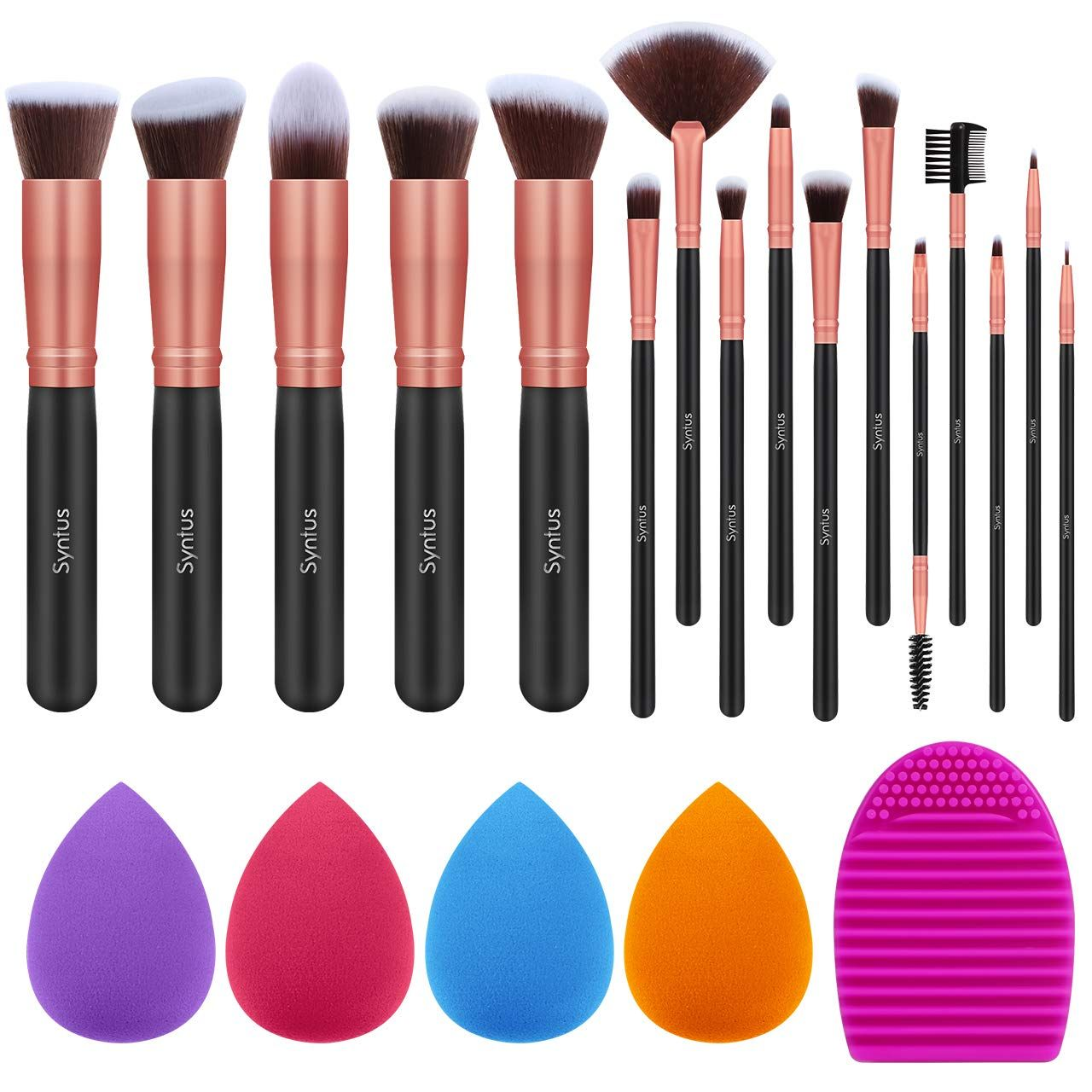 Check out this Amazon deal Syntus Makeup Brush Set, 16