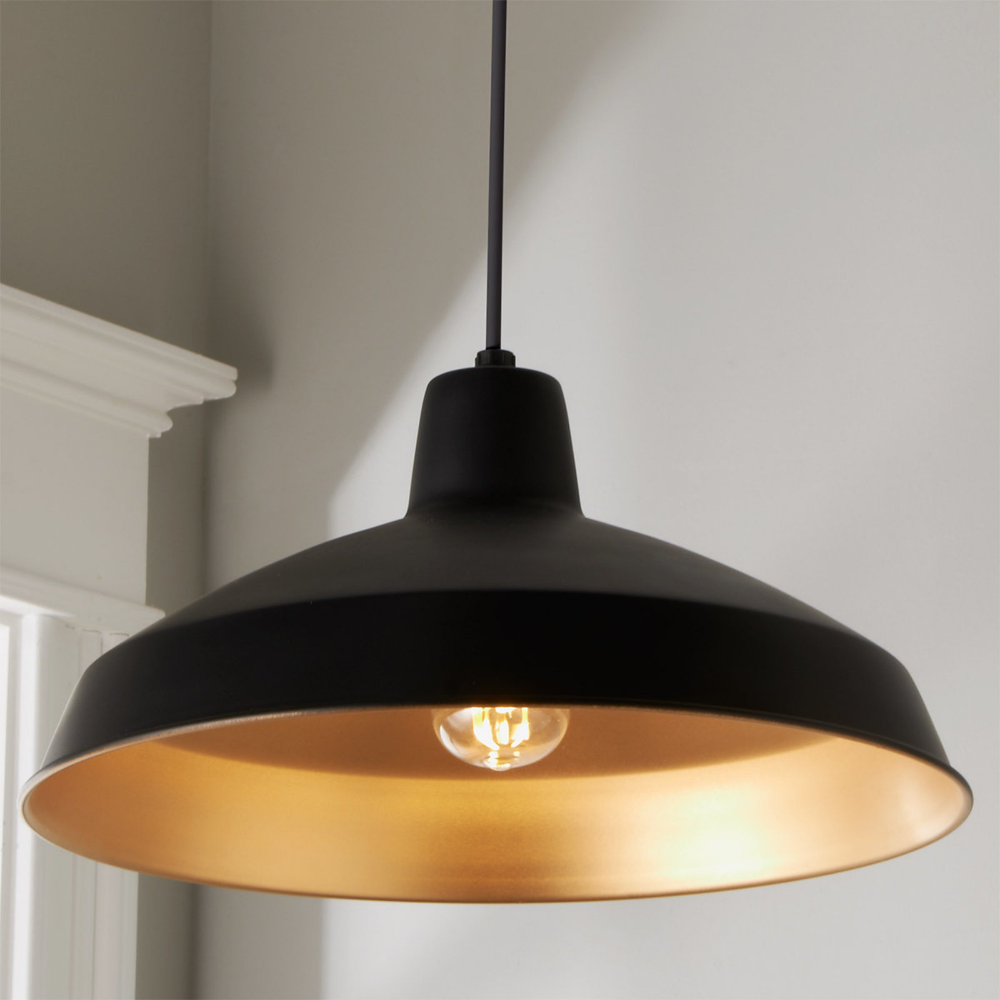 Colorful Warehouse Loft Shade Pendant In 2020 Contemporary