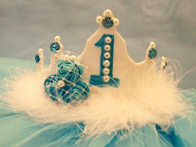 First Birthday crown....