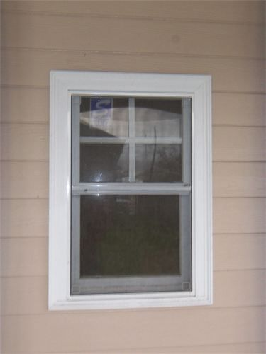 Adding Window Trim To Ugly Aluminum Windows Need Curb Appeal Pinterest Window House