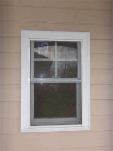Adding Window Trim To Ugly Aluminum Windows NEED Curb