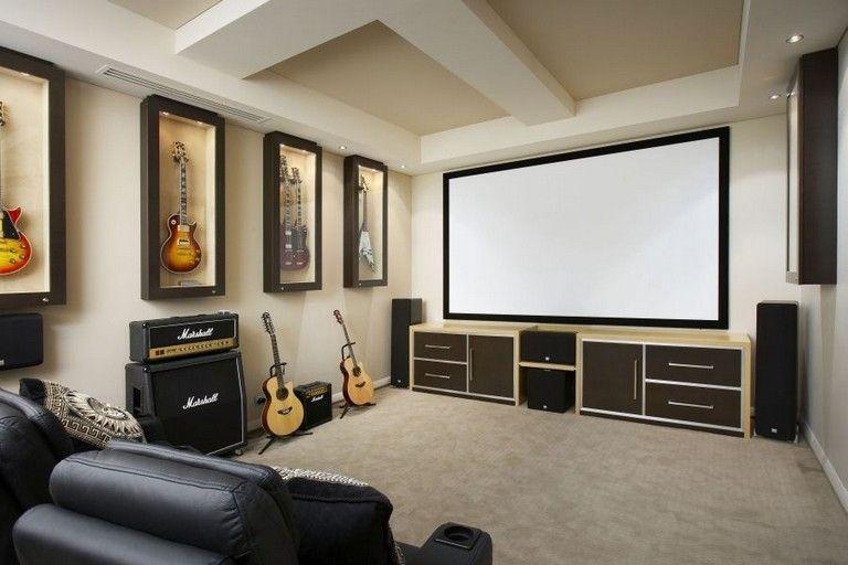 25 Simple Home Theater Design Ideas Homedecor Homedesign Homeideas Home Home Theater Rooms Home Theater Design