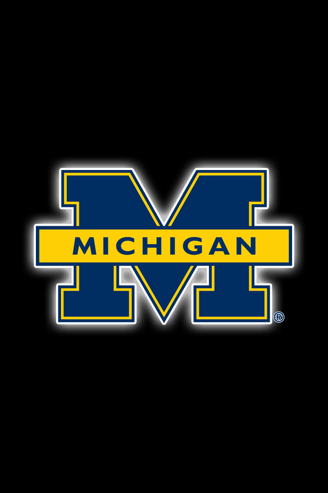 Get A Set Of 24 Officially Ncaa Licensed Michigan Wolverines Iphone Wallpape Michigan Wolverines University Of Michigan Wolverines Michigan Wolverines Football
